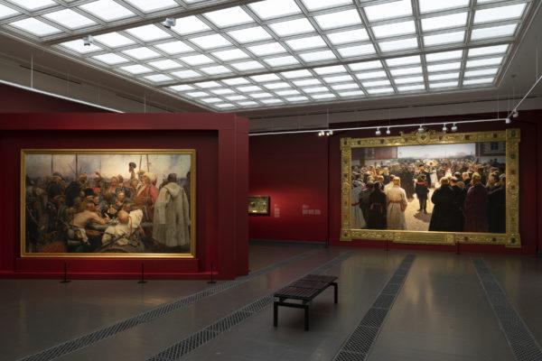 Utställning på konstmuseet Ateneum