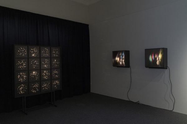Näyttely Eino Ruutsalon kokeellinen 1960-luku Fokus-salissa.