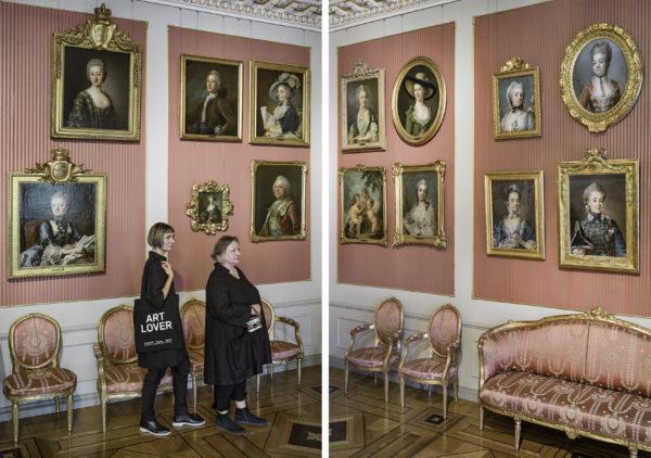 Elina Brotherus & Hannele Rantala: Taiteenystäviä galleriassa (2020).