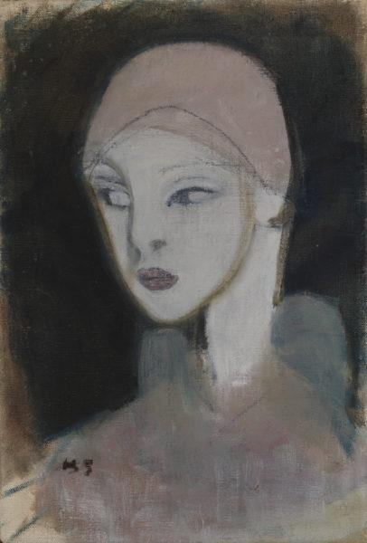 Helene Schjerfbeck: Girl from the Islands (1929)
