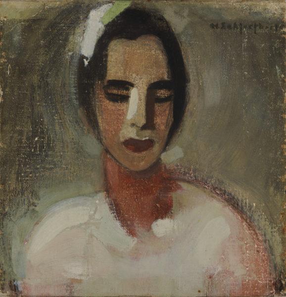 Helene Schjerfbeck: Kalifornialainen (1919)