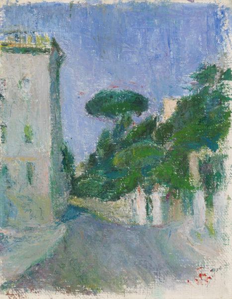 Sigrid Schauman: Italian Landscape (1930s)