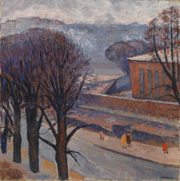 Gunvor Grönvik: Mannerheimintie, Töölö (1940s)