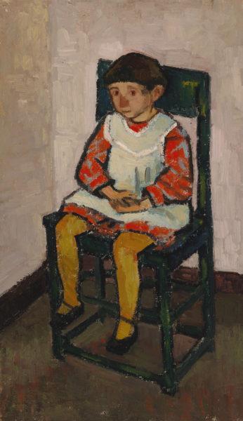 Gunvor Grönvik: Girl Sitting (1940)