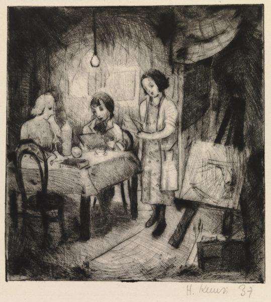Helmi Kuusi: The Atelier (1937)