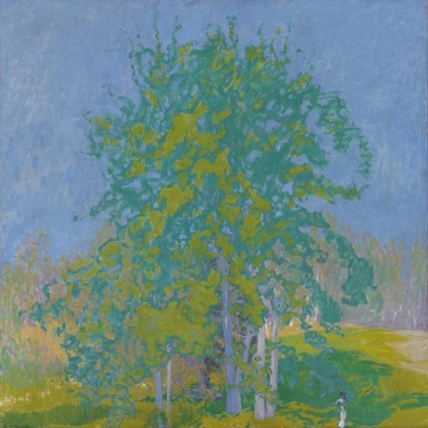 Ellen Thesleff: Decorative Landscape (1910)
